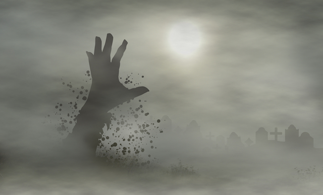 cemetery hand